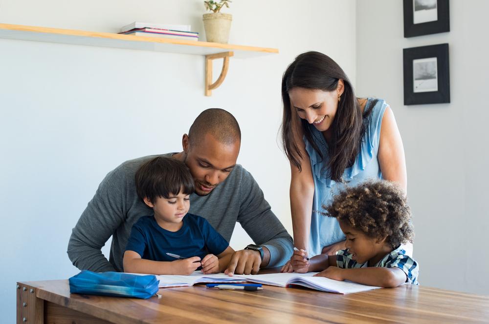 Shady Oak - Parents helping children