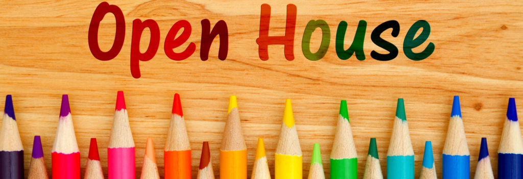 Open House – February 13th.