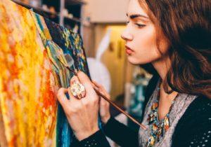 artistic girl